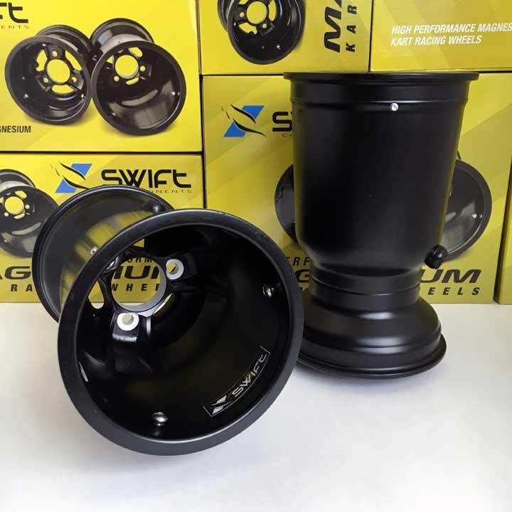 "Swift Components 212mm x 5"" Magnesium Metric Wheel, Pair"