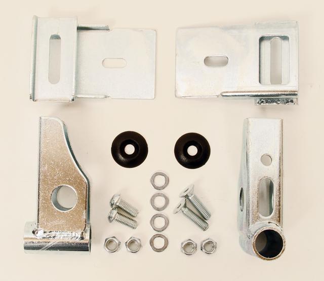 RLV Aftermarket Adult Plastic Rear Bumper Hardware Kit, KG Style