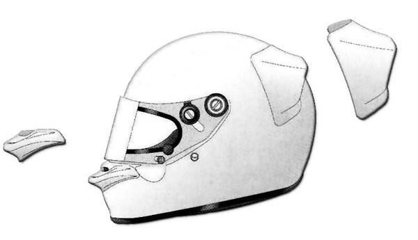 Arai PED Kit, Clear