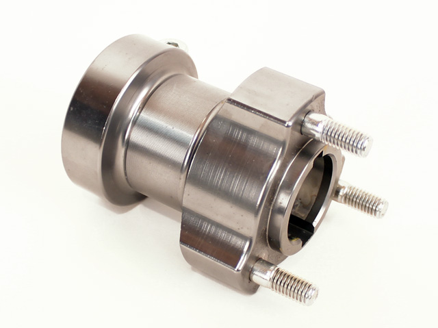 "Arrow 30mm Wheel Hub (80mm, 3 1/8"" Long) - Gunmetal"