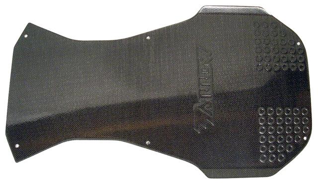 DPE-KFT22BC Arrow AX9 Floor Tray, Carbon Fiber Cover