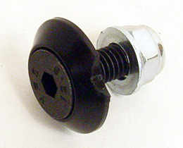 Arrow Floor Tray Bolt and Nut with Plastic Conical Washer