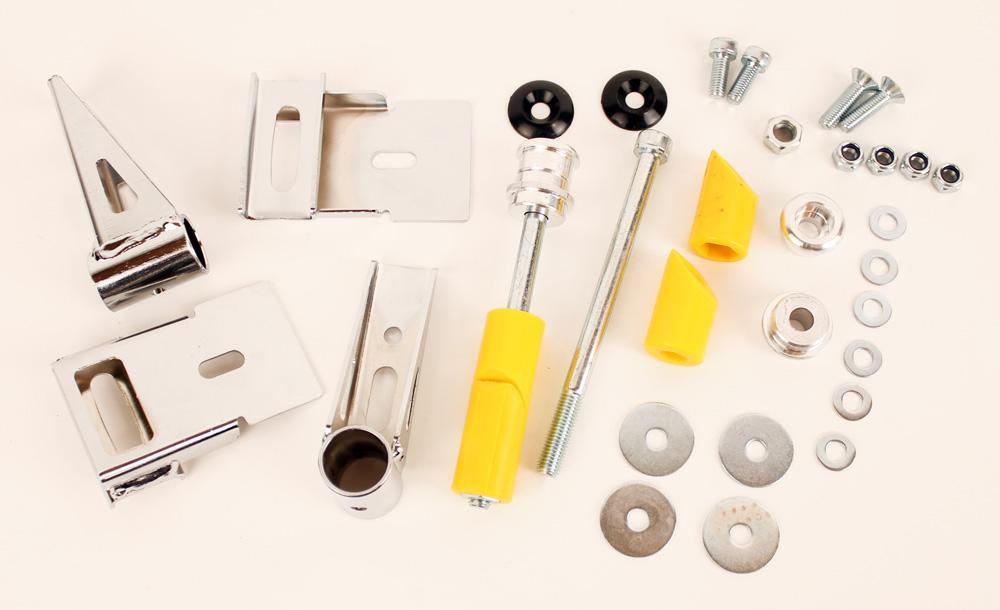 Arrow OEM Complete CIK Rear Bumper Hardware Kit