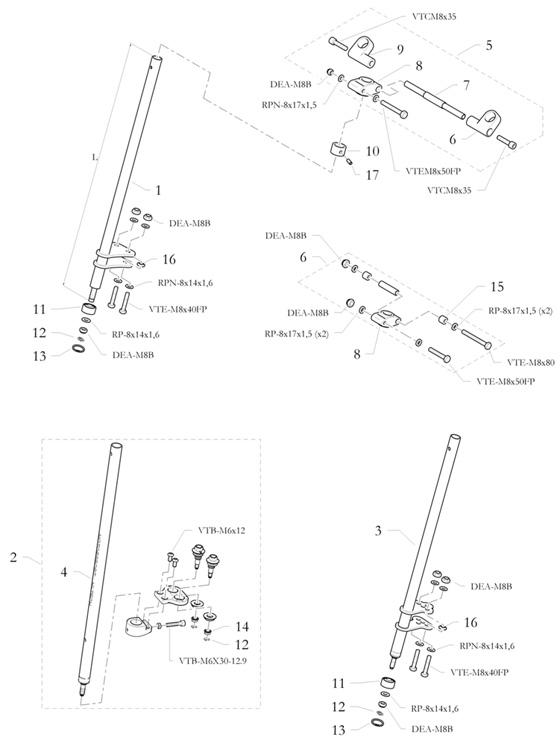 16. 20.1900.06 Birel Shaped Spacer for Tie Rod End