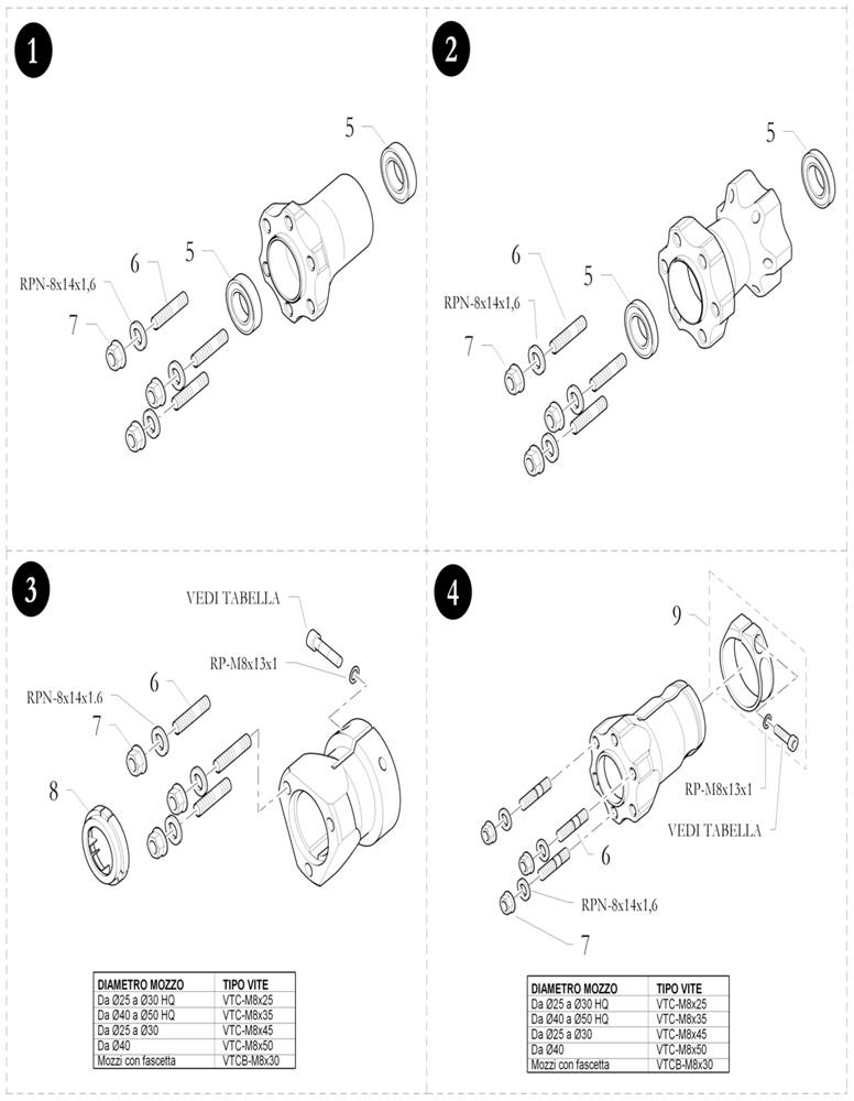5. 40.9078.00 Birel Wheel Hub Bearing M25x37x7