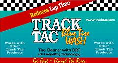 TrackTac Blue Tire Wash, Gallon