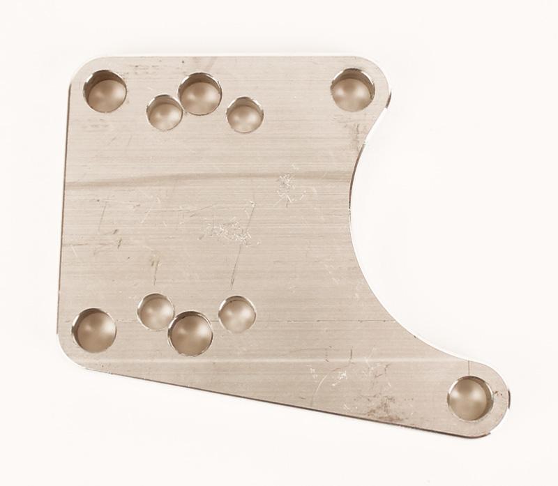 Brake Bracket, Aluminum