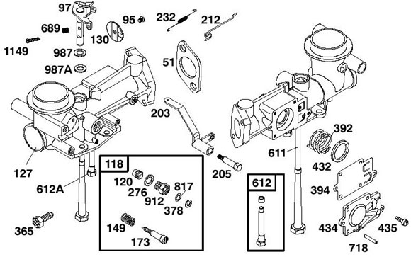 118. 555127 Needle and Jet Kit