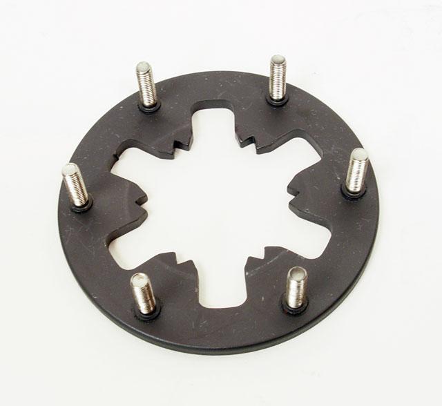 (15) 098-254 Bully 6 Spring Pressure Plate (Heavy Duty)