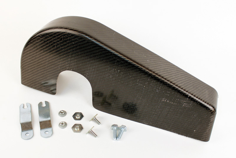 New! Carbon Fiber Chain Guard Kit, Quick Release