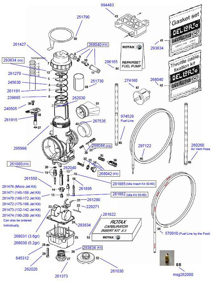 26. Rotax Use Gasket Set 293834 (41)