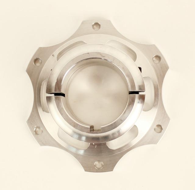 50mm Aluminum Brake Hub, 6 Bolt Metric Pattern