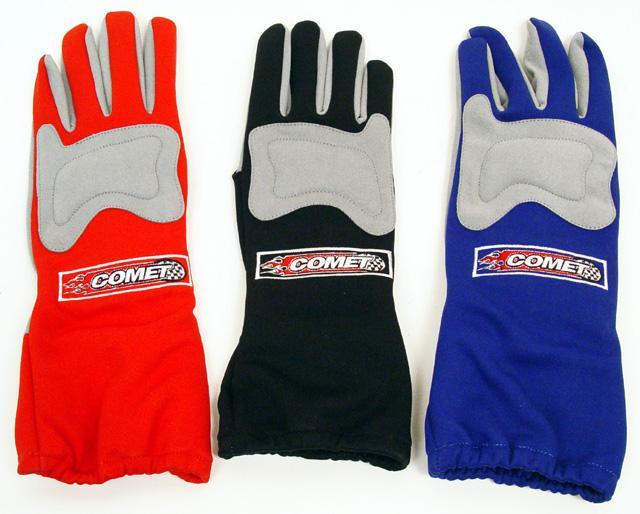 Comet Embroidered Karting Gloves