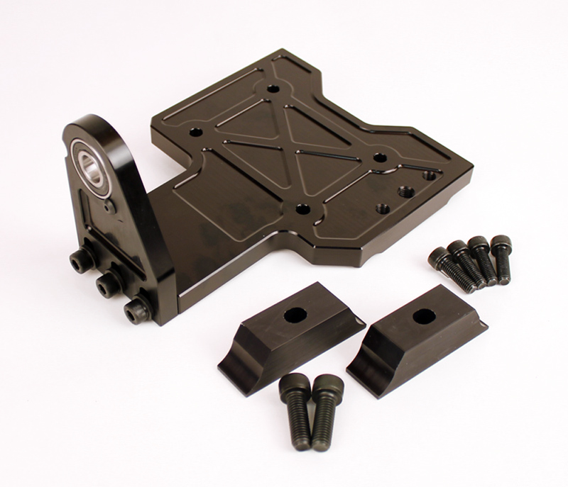 Comet One Piece Third Bearing Support and Slider Mount for Yamaha KT100