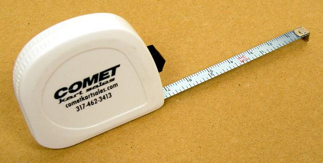 Comet Dual Scale Metric/Standard Tape Measure