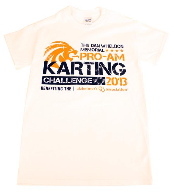 Close Out! Official 2013 Dan Wheldon Pro-Am Karting Challenge T-Shirt