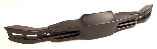 KG CIK Plastic Adult Adjustable Rear Bumper, Black