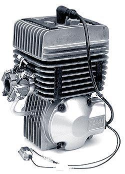 Yamaha KT100SE Box Stock Engine