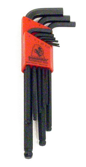 13609 Metric L Allen Wrench Set