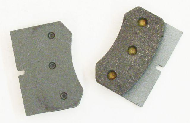 MCP 4283LN Rear Pads for Big Red Shifty Calipers Set
