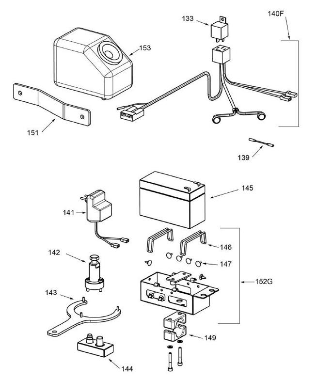 139. W435/MR Mini Rok Wiring Adapter