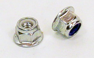 9FLNUT8 Kart Republic Mini King Pin M8 Flange Nylock Nut