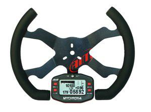Mychron 4 Oval Kart Steering Wheel
