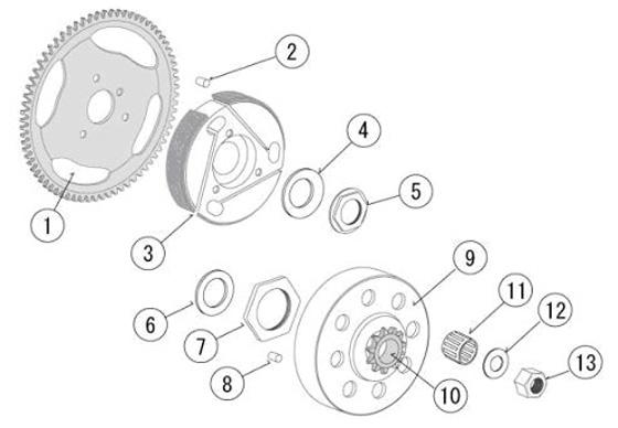 5. PRD-7123 Jam Nut M20*