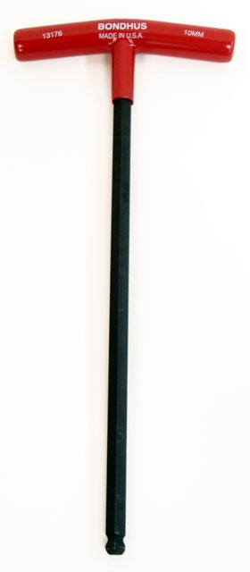 Metric T-Handle Ball Driver Allen Wrench :: Allen Wrenches :: Tools