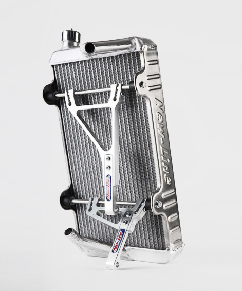 New Line RS Radiator with Mounting Brackets