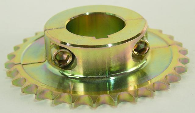 50mm Steel Rear Two Piece Sprocket 428 Chain