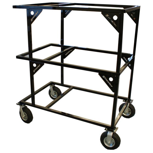 Streeter Three Level Stacker Kart Stand