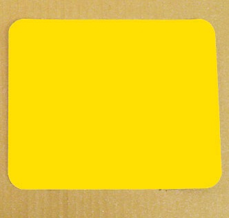 Vinyl Yellow Stick On Number Panels