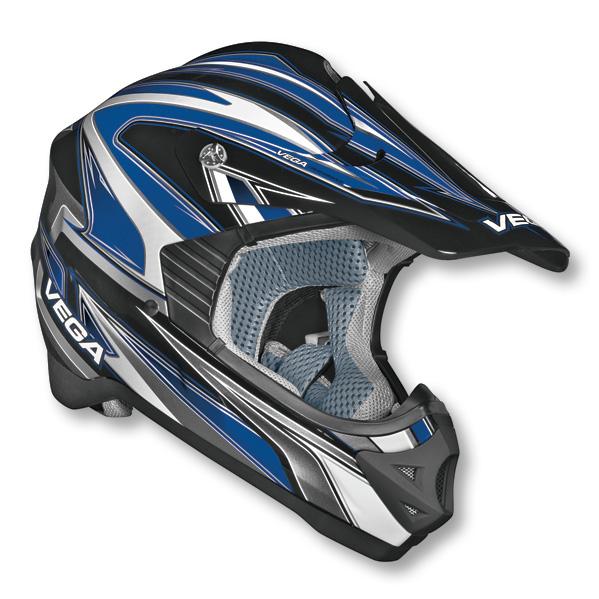 Vega Off Road MX Viper Helmet, DOT Approved
