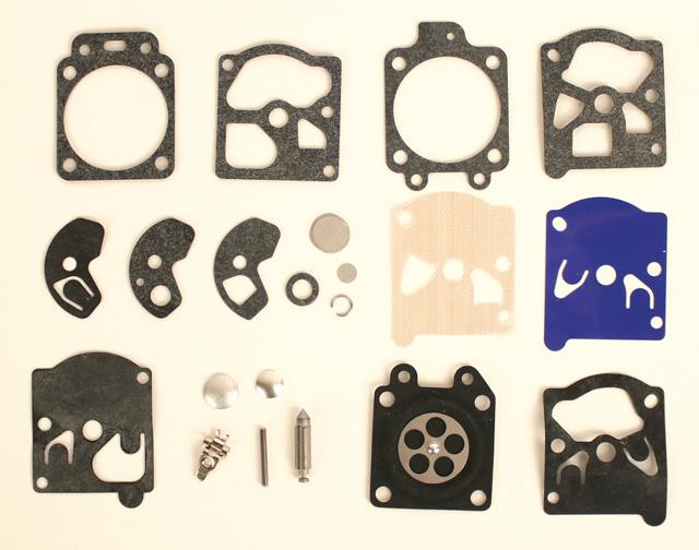 K10WAT Walbro WA55 Deluxe Carburetor Rebuild Kit
