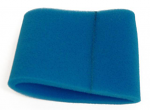 Teal Foam Sock, Fits Over Airbox