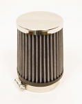 AFR80TC Chrome Top Fabric Air Filter