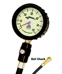 50402 Longacre 0-60lb Tire Gauge with Bleeder