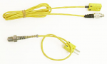 Mychron 4, 5 10mm Water Temp YELLOW Sensor with Patch Cable, Two Piece