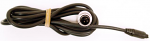 Mychron 4, 5 Black Patch Cable, 3 Pin Heat Lead Style