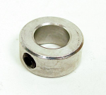 "1/2"" ID Shaft Collar One Piece, Aluminum"
