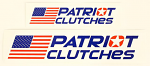 Patriot Clutches Decal