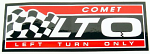 Comet LTO Small Sticker