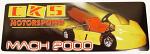 Comet Mach 2000 Sticker