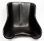 Tillett Plastic Seat, Black