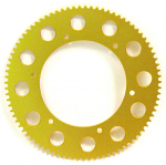 #219 Gold Sprocket, One Piece