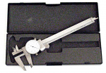 "Analog Dial Caliper 6"" Travel"