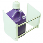 Fuel Jug Rack for Trailer Wall