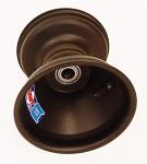 "728-039 Douglas 17mm DSM Front Wheel - Black 5 1/4""x5"""