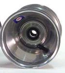 "728-04 Douglas 17mm DSM Front Wheel - Polished 115mmx5"""